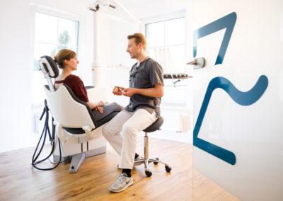 Zahnarzt Odenthal | Zahnmedizin an der Dhünn | Behandlungszimmer (Bild 2) der Zahnarztpraxis in Odenthal